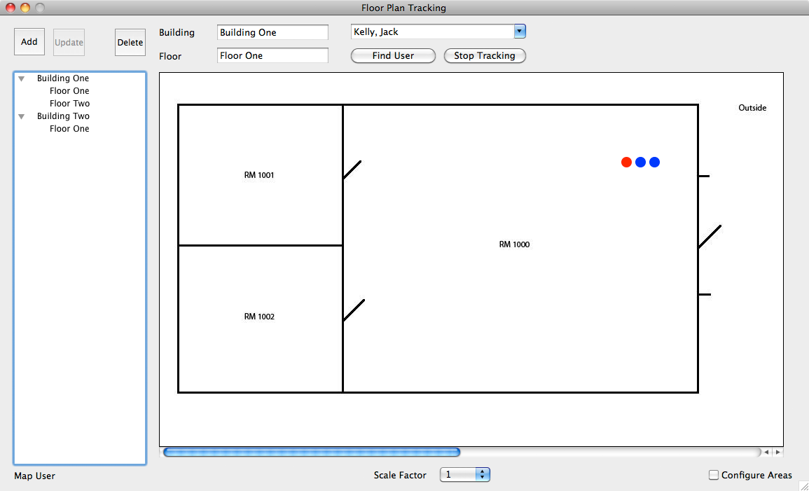 Floor Plan Tracking OS X