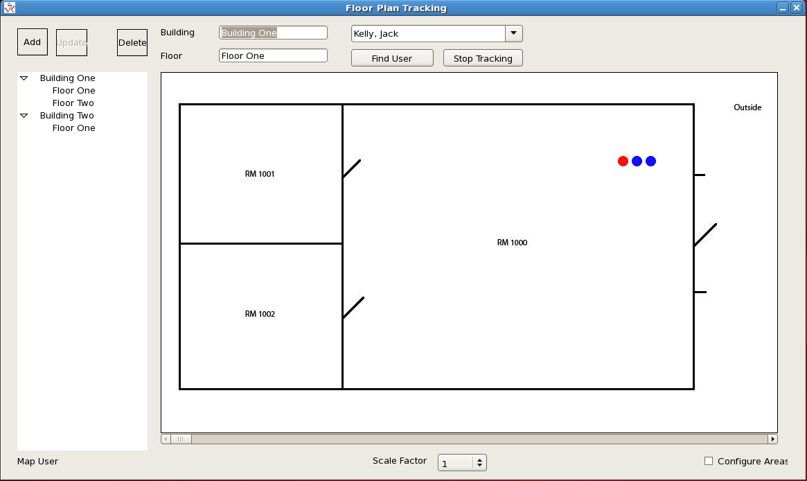 Floor Plan Tracking RedHat 5
