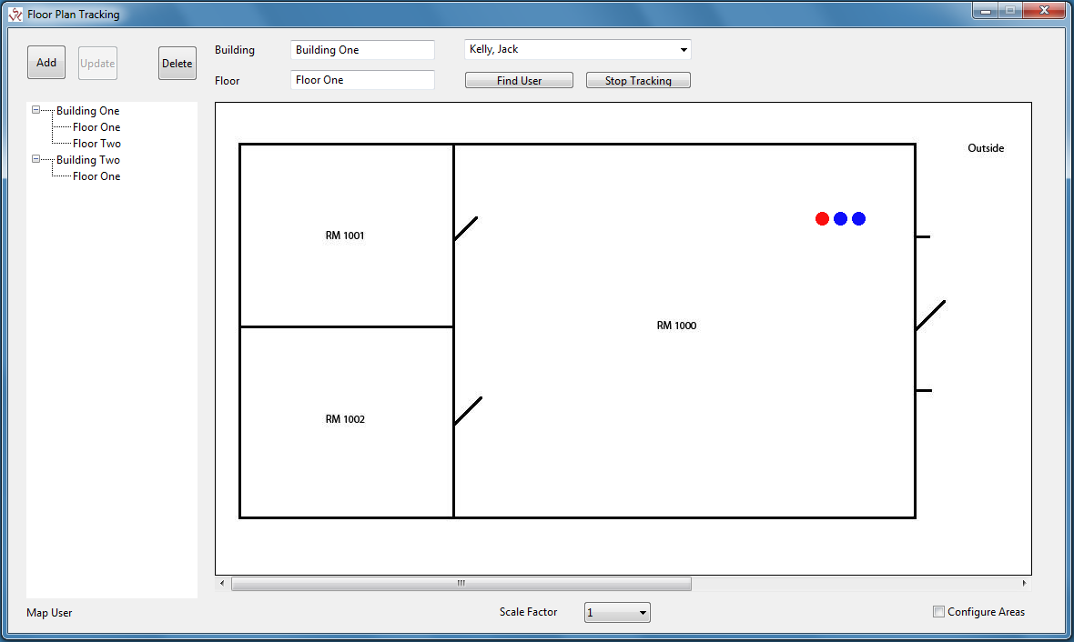 Floor Plan Tracking Windows 7