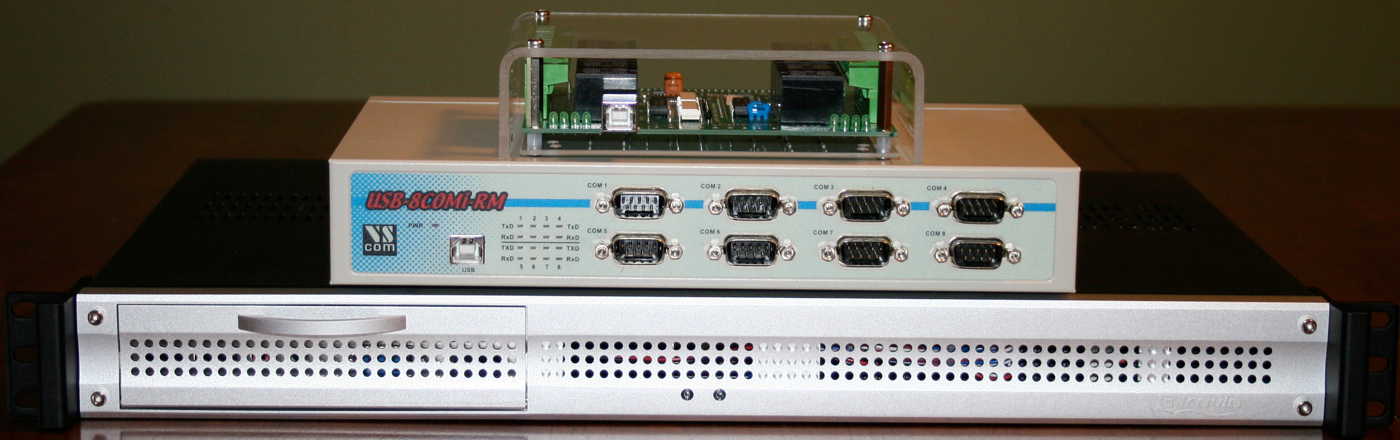 LSL LPN-SEC Standard Hardware with 8 Port Relay and 8 Port external serial interface