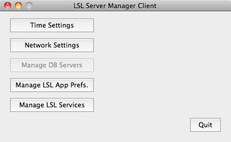 Opening Screen OS X